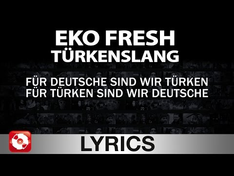 EKO FRESH - TÜRKENSLANG AGGROTV LYRICS KARAOKE (OFFICIAL VERSION)