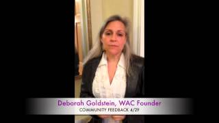 WAC Community Feedback Thumbnail