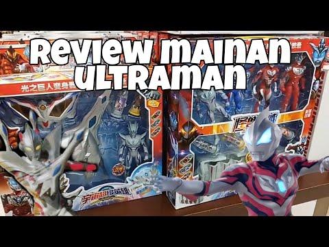 Review Mainan Ultraman Geed | Senjata Ultraman Zero | Unboxing Squishy Ironman | Alvin toys