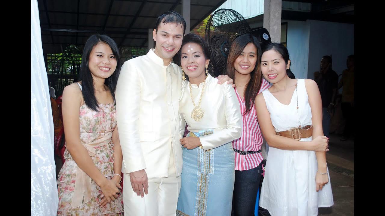 แห ข นหมาก Mein Hochzeit In Thailand Youtube