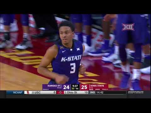 Kansas State at Iowa State Men