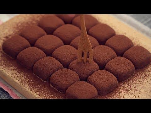 Condensed Milk Chocolate Truffles Easy Recipe [2 Ingredients]