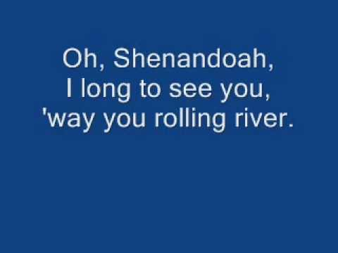 Shenandoah - Peter Hollens (A cappella) lyrics