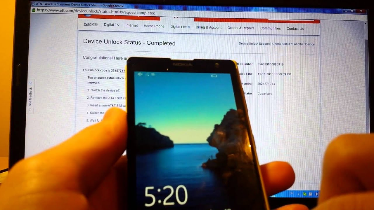 How To Unlock At&T Phone For Free!  Marko Zutic 09:15 HD
