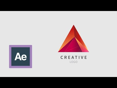 Logo Animation, Simple Animation - Tutorial. Adobe After Effects