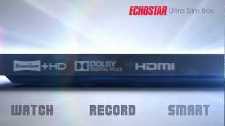 EchoStar HDT-610R Ultra Slim Box - Freeview HD recorder