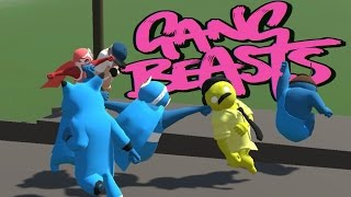 Gang Beasts  - Death By Cape! (Gang Beasts Online Gameplay feat MattShea & Oompaville)(Gang Beasts is back for some more online Gang Beasts action! In today's episode of Gang Beasts we are greeted by two new beasts, Matt Shea and Oompaville ..., 2016-05-19T16:00:01.000Z)