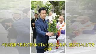 長谷川博己さん、来年の大河ドラマで演じる明智光秀の墓参り 滋賀・大津.
