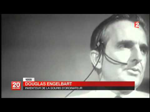 FRANCE 2 - 20 HEURES - DÉCÈS DE DOUGLAS ENGELBART