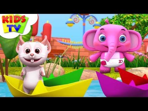 Naav Banao Naav Banao   नाव बनाओ   Hindi Rhymes For Children   Kids Tv