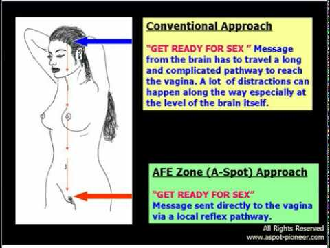Sex position to stimulate afe zone