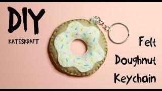 DIY | Felt Doughnut Keychain