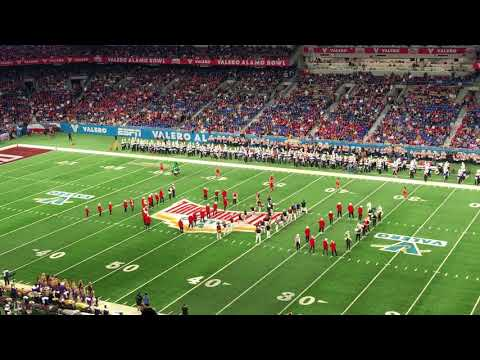 Stanford band at Alamo Bowl 2017