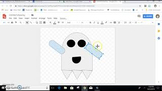 Google Drawing Ghost