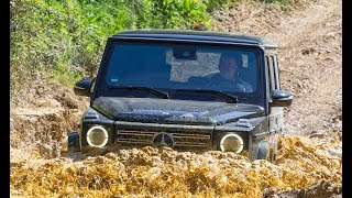 2019 Mercedes G 500 & AMG G 63 Off-Road Test Drive