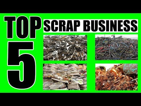 Top 5 Profitable Scrap Business With Low Investment