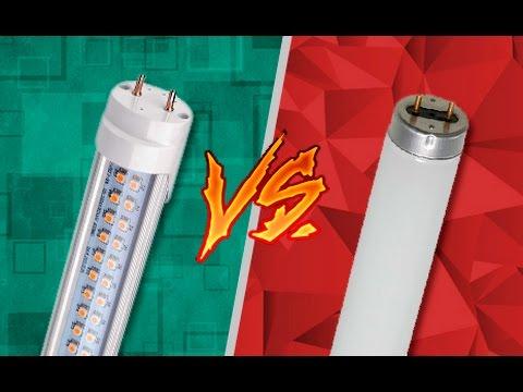 Lâmpadas tubulares led ✗ fluorescente dicas flash ⚡ youtube