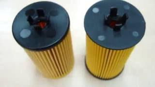 Сравнение фильтров MANN HU612/2X и PMC PBC013 на Chevrolet Aveo T300