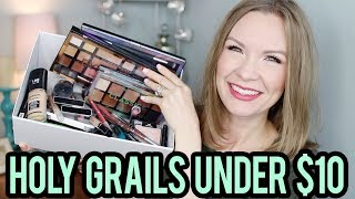 Holy Grail Makeup Products Under $10! | LipglossLeslie