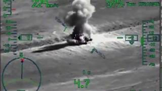 RuAF Ka-52 night operations against ISIS in Syria /august 2017/