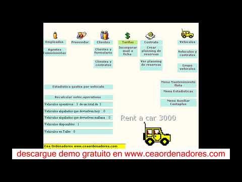 software de renta de autos