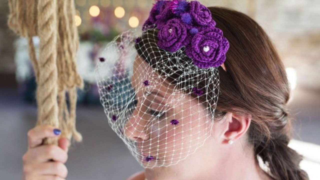 The Colour Purple: October Wedding Styled Shoot