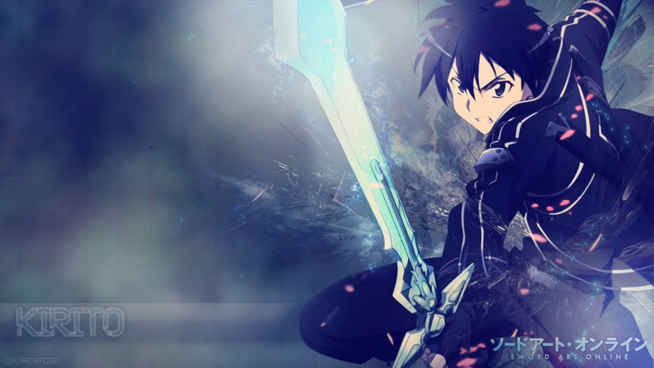 pack wallpapers sword art online hd + download - youtube