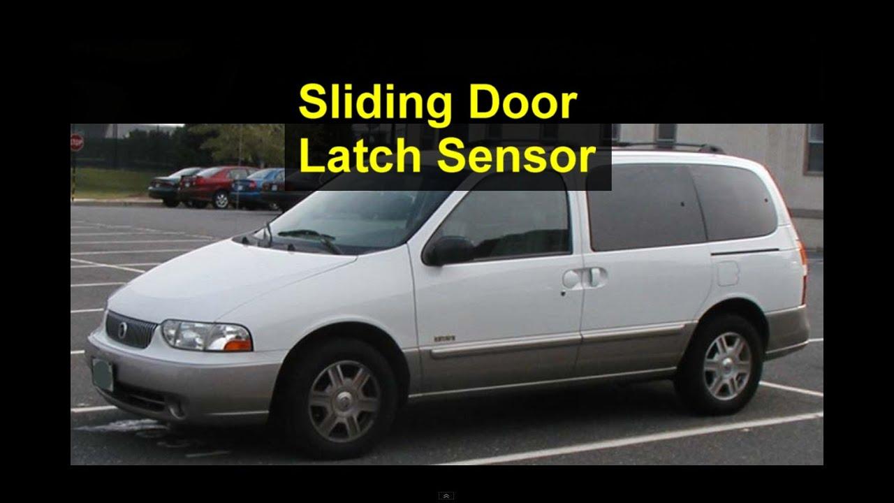 Sliding Door Sensor Pins Loose Or Missing Mercury Villager Or Nissan Quest Votd Youtube