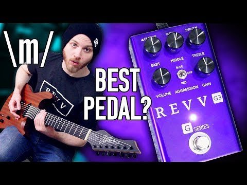 Best Distortion Pedal For Metal? - Revv G3 | Pete Cottrell