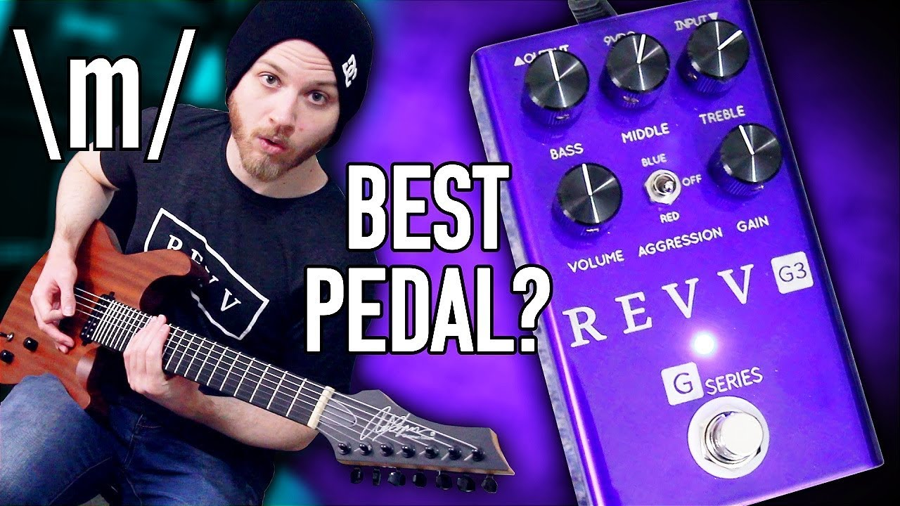 best distortion pedal for metal revv g3 pete cottrell youtube. Black Bedroom Furniture Sets. Home Design Ideas