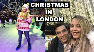 London Christmas Lights and Ice Skating | What to do in London at Christmas | London Christmas 2019