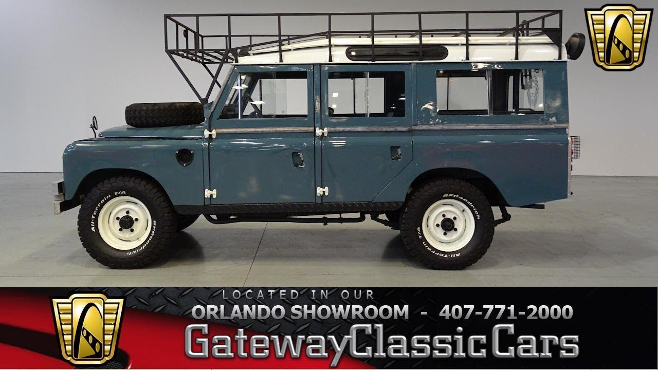1965 Land Rover Series Iia Gateway Orlando  955