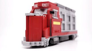LEGO Santa Fe Diesel Locomotive MOC