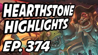 Hearthstone Daily Highlights | Ep. 374 | TrumpSC, xChocoBars, DisguisedToastHS, Savjz