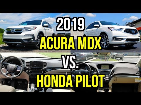 Mdx Vs Pilot >> Best Honda Three Row 2019 Honda Pilot Vs 2019 Acura Mdx