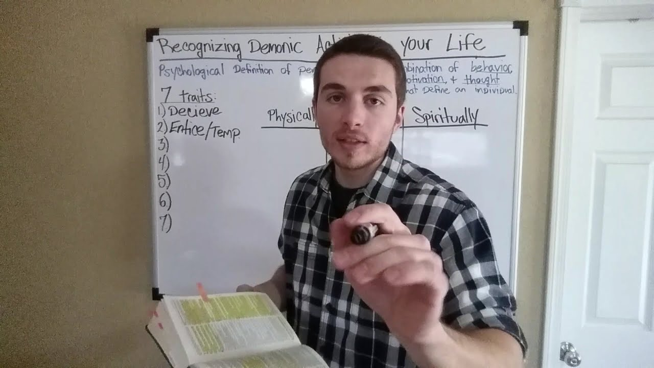 Recognizing Demonic Activity in your Life By Josh Coen