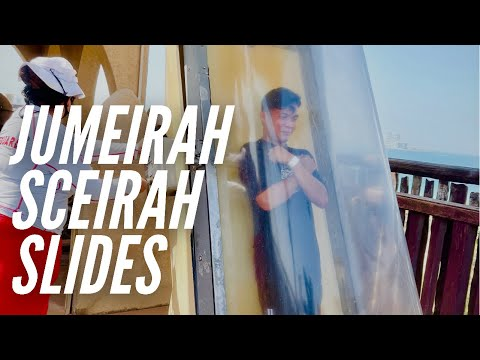 jumeirah sceirah water slides-wild wadi waterpark