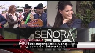 Blanca Soto y Los Tucanes de Tijuana Al Rojo Vivo 06-Ago-14