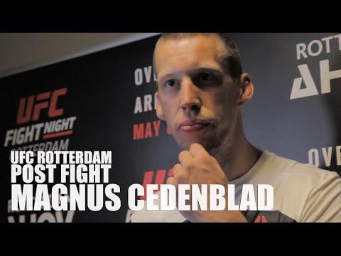 UFC Rotterdam Post Fight: Magnus Cedenblad