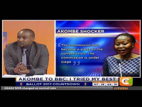 Citizen Extra : Akombe to BBC I tried my best