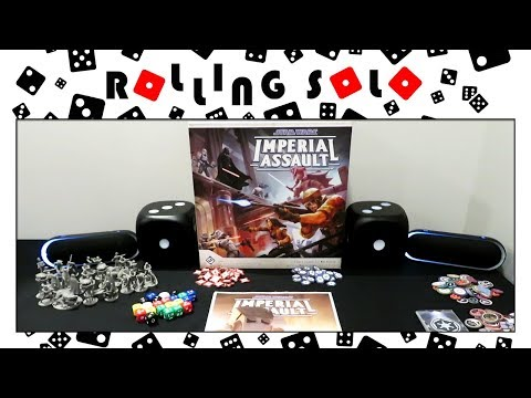 Star Wars: Imperial Assault | Legends of the Alliance App Tutorial | Solo Setup