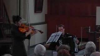 "Duo MARES - B. Britten ""Lachrymae op.48"" part 1"