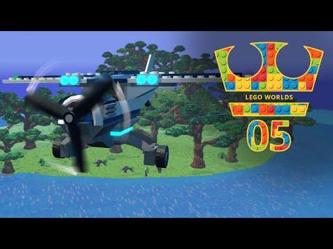 Jirka Hraje - Lego Worlds 05 - Cestování a objevování