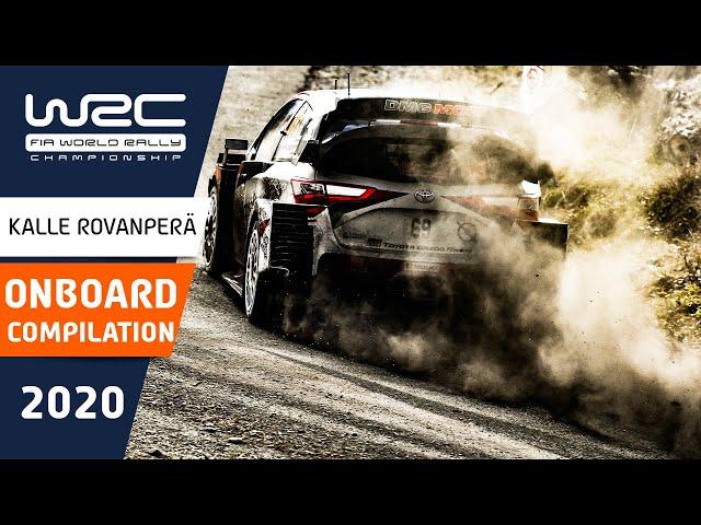 ONBOARD compilation - WRC 2020: Kalle Rovanperä