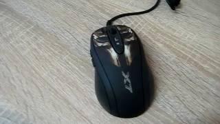 Розпакування Миша A4Tech XL-750BH USB Black (X7) з Rozetka.com.ua