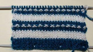 # 19 - double colour knitting design for kids