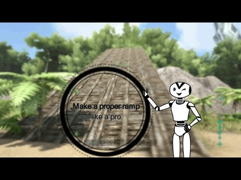 Ark Survival Evolved Xbox One How to make a proper ramp