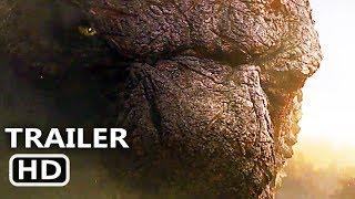 GODZILLA 2 Trailer # 2 (NEW 2019) King of the Monsters, Blockbuster Movie HD