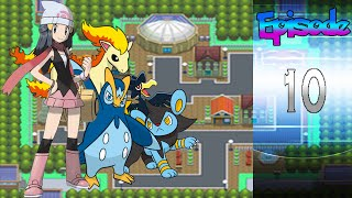 Let's Play! - Pokemon Diamond And Pearl Episode 10: Why's Mom Here?!