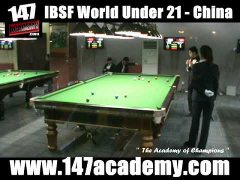 IBSF WORLD UNDER 21 SNOOKER CHAMPIONSHIPS CHINA 2012